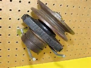 john deere stx38 mower deck hub with spindle yellow deck