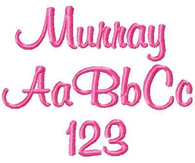 murray font gg designs embroidery