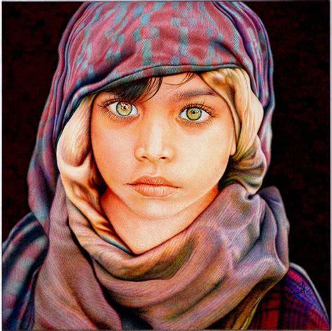 stunning photorealistic ballpoint  art  samuel silva