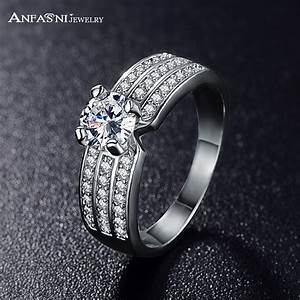 ANFASNI 2017 Top Finger Ring Gold /Rose Golden Color 3 Row ...
