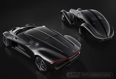 Like the bugatti divo, the la voiture noire has its own unique front fascia that distinguishes it from your average chiron. 2019 Bugatti La Voiture Noire - specifications, photo, price, information, rating