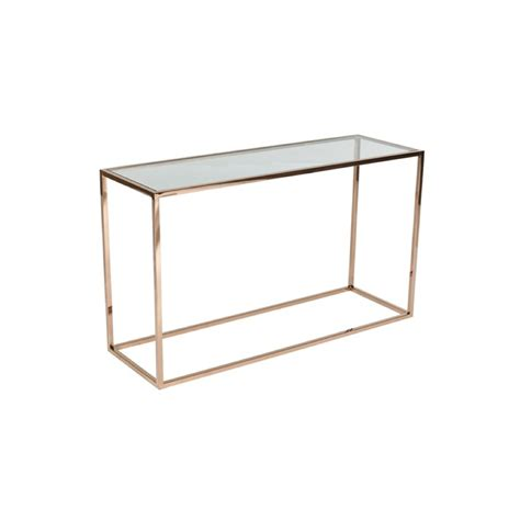 Cube Console by Cube Console Glass Brass Sideboards
