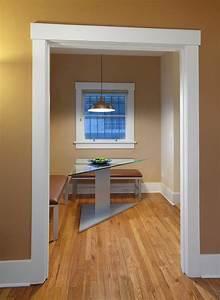interior trim dining room contemporary with white