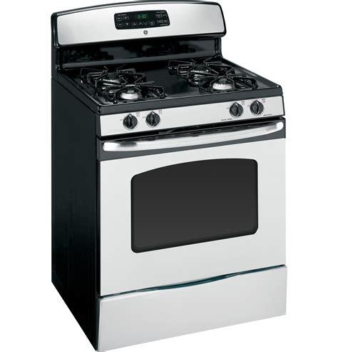 ge profile gas ge 30 quot free standing gas range jgbp33setss ge appliances
