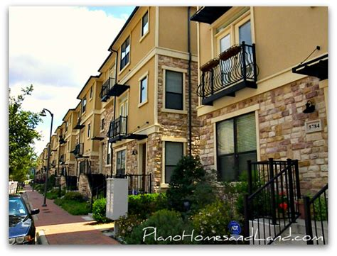 Town Homes Next Best Thing To Shops At Legacy Plano