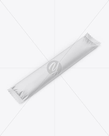 Contains a kaft texture for the carrier. Matte Stick Sachet - Half Side View in Sachet Mockups on ...