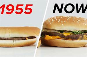 McDonald's: 1955 Vs. Now