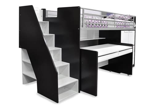 stairs for beds evan loft bed single beds