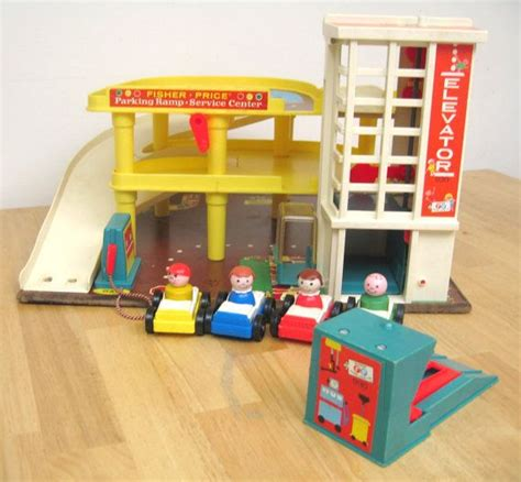 fisher price garage vintage toys those ghosts of past my history fix