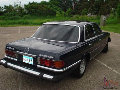 1979 Mercedes Benz 300sd, Rare W116 Turbo Diesel, 78k