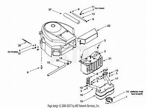 Troy Bilt 13bu609h063  2000  Parts Diagram For Muffler