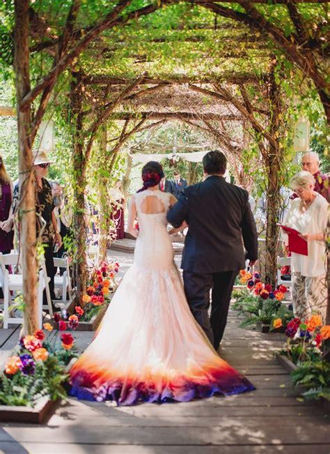 Dip Dye Wedding Dress Shemazing