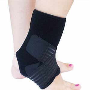 Ankle Bandage Brace Ankle Support Elastic Ankle Support ...
