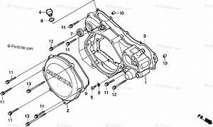 Honda Motorcycle 1995 Oem Parts Diagram For Right