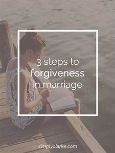 3 Steps To Forgiveness In Marriage
