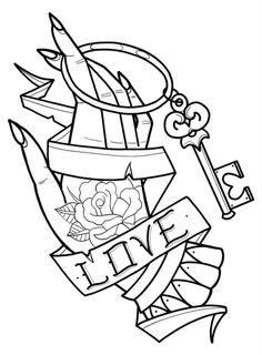 Pin by Alex Nechita on Idei tatuaje   Tattoo stencil