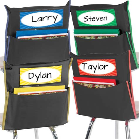 store more grouping chair pockets black