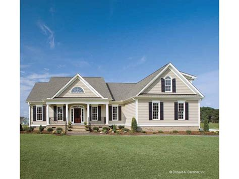 country house plans one story homes rustic country house