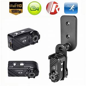Mini Full HD 1080P 12MP Night Vision Spy Hidden Video ...