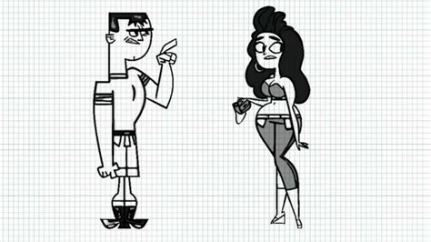 How To Draw Anne And Brick From Total Drama Revenge Of