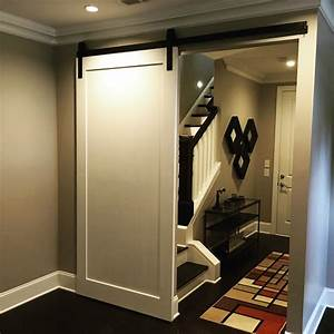 Modern panel barn door for Modern barn doors for a unique home