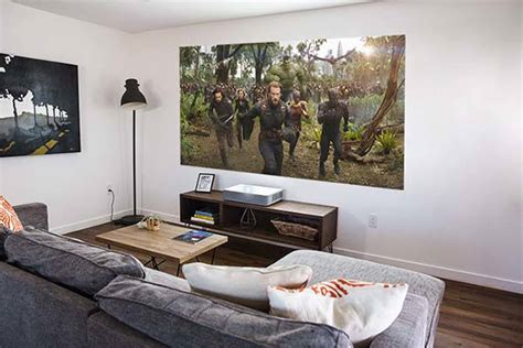 vava  short throw projector  soundbar built
