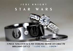 custom reserved for tanya garcia star wars by cloud9tungsten With batman 3 piece wedding ring set
