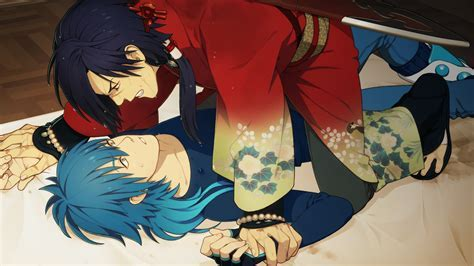 Dramatical Murder Images Aoba And Koujaku Hd Wallpaper And Background Photos