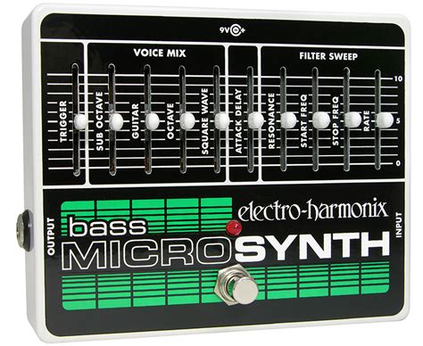 Electro Harmonix Micro Synth Sound Templates by Ehx Bass Micro Synthesizer Analog Microsynth