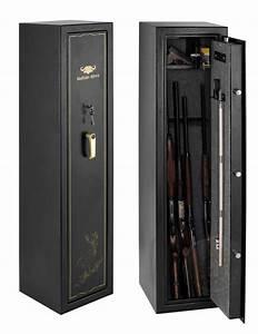 Coffre Fort A Clef : coffre fort 7 armes fusil carabine de chasse buffalo river ~ Melissatoandfro.com Idées de Décoration