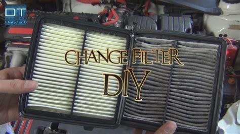 change engine air filter  home diy honda city