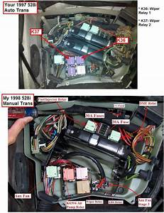 Need Help With Location Of The Fuse Boxs And Overview Of Fuse Positions For 528i