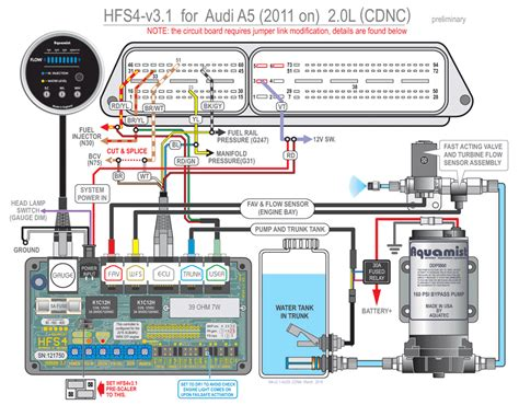 Audi A5 Fuse Diagram by Audi A5 Hfs4 V3 1 Waterinjection Info