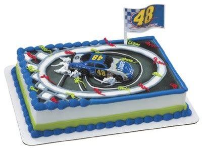 jimmie johnson victory spin cake kit nascar