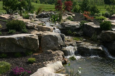 garden waterfall pond garden pond waterfall construction backyard design ideas