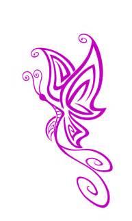 Purple Butterfly Clip Art