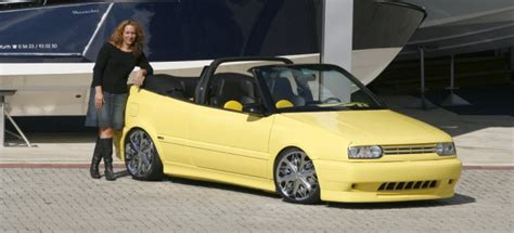 girl   friend vw golf  cabrio tuning tuning fuers