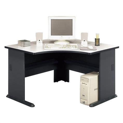 bush series a desk bush business series a 48 quot corner desk in slate wc8427a