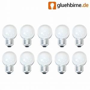 Glühbirne 40 Watt : 10 x gl hbirne gl hlampe tropfen 40w 40 watt e27 opal weiss ~ Frokenaadalensverden.com Haus und Dekorationen