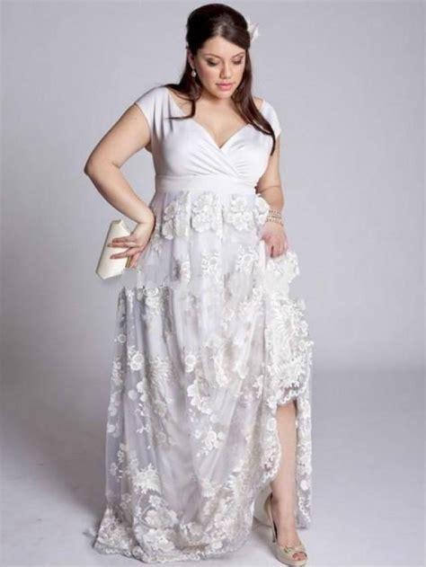 plus size wedding dresses 2016 satin floor length