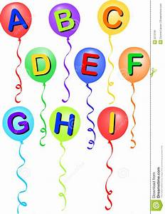 balloon alphabet a i eps stock image image 2272791 With balloons with letters of the alphabet