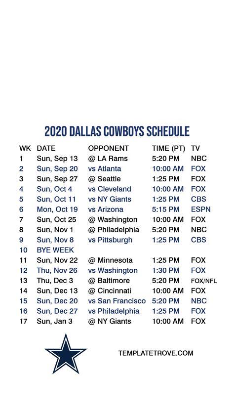 dallas cowboys lock screen schedule  iphone