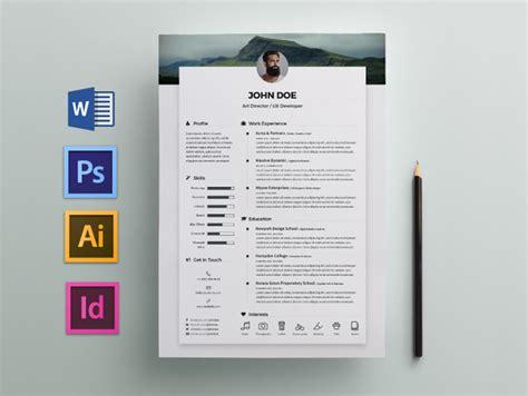 free elegant resume cv template for any job opportunity