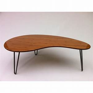 Mid Century Modern Coffee Cocktail Table Studio1212furniture Outstanding Kidney Shaped Desk
