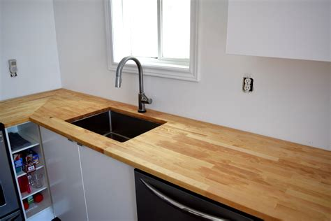 butcher block tops adventures in staining butcher block what worked what