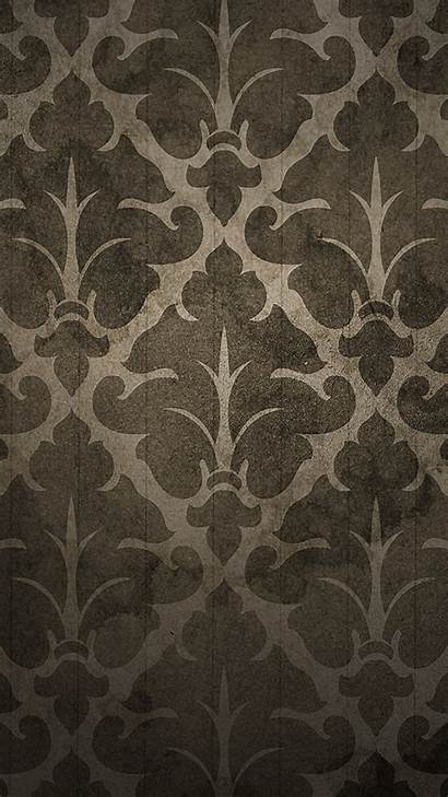Elegant Iphone Pattern Brown Android Wallpapers Plus