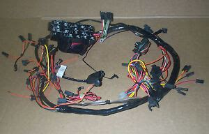 Wiring Harnes For Jeep Cj5 by Jeep Cj Oem Dash Wiring Harness Gt Fits Cj5 Cj6 Cj7 Gt Oem