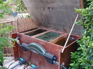 Filtre Poussiere Maison : filtre a bassin fait maison avie home ~ Zukunftsfamilie.com Idées de Décoration