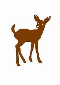 Deer Cartoon Clip Art - Cliparts.co