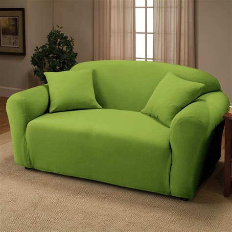 Sofa Or Loveseat by Lime Jersey Sofa Stretch Slipcover Cover Chair